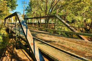 Calico Rock Old Bridge T W