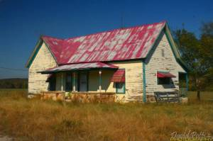 Calico Rock Old House T W
