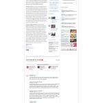L'articolo del Corriere.it cancellato e recuperato dalla cache di Google