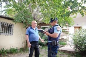 L'anziano signore e la polizia di Cordoba