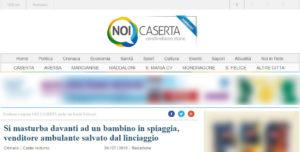 La storia pubblicata successivamente su NoiCaserta.it