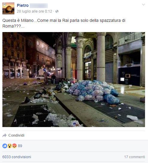 post-pietro-spazzatura-milano-roma