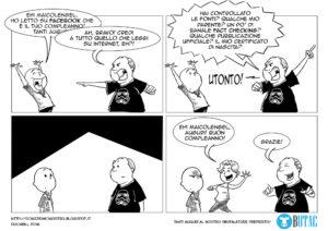 La bellissima vignetta di Duckbill per il compleanno di Maicolengel (fondatore di BUTAC)