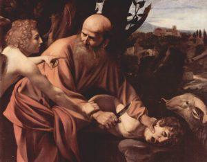 Sacrificio di Isacco – Caravaggio