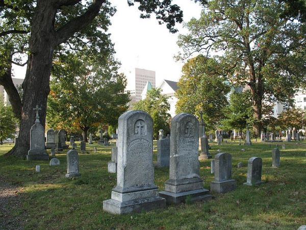 Rockville-Maryland-Churchyard-St-Mary-s-Catholic-Churcg