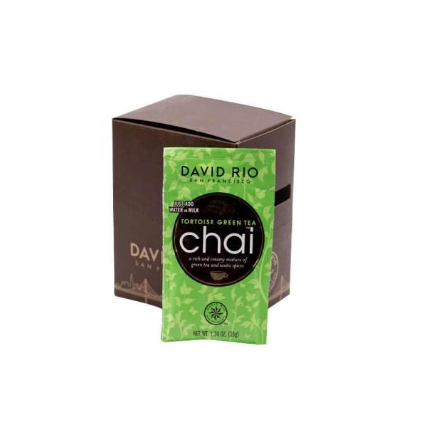 Tortoise Green Tea Chai David Rio