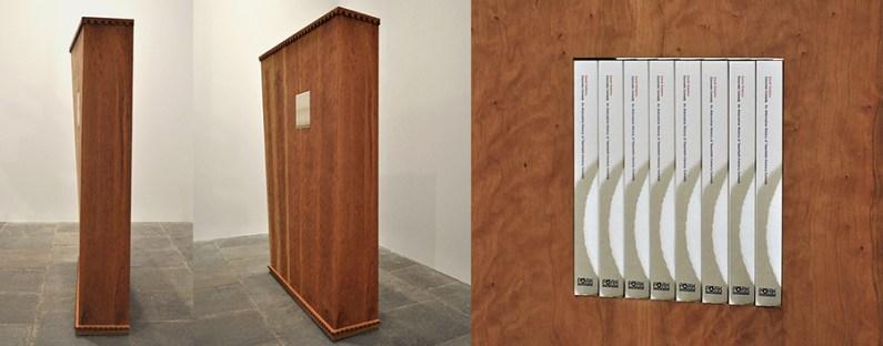 """""""Bookcase for Concrete Comedy Book,"""" 2014"""