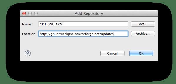 add_CDT_GNU_ARM