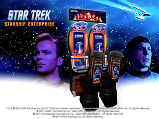 Star Trek Starship Enterprise Slot Game
