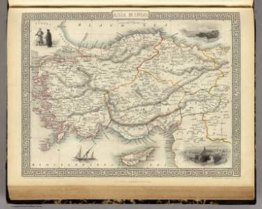 Browse All   World Atlas of Asia Minor   David Rumsey Historical Map     Asia Minor