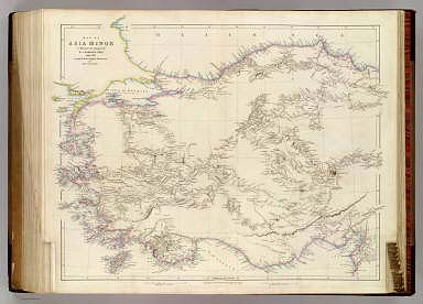 Map of Asia Minor    Arrowsmith  John   1844