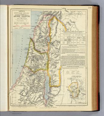 Ancient Palestinian Map