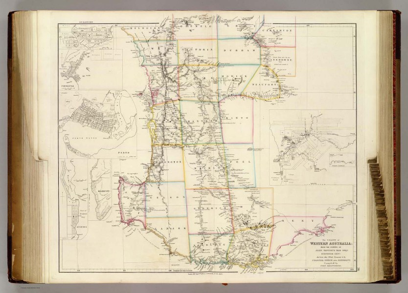 The Colony of Western Australia    Arrowsmith  John   1844