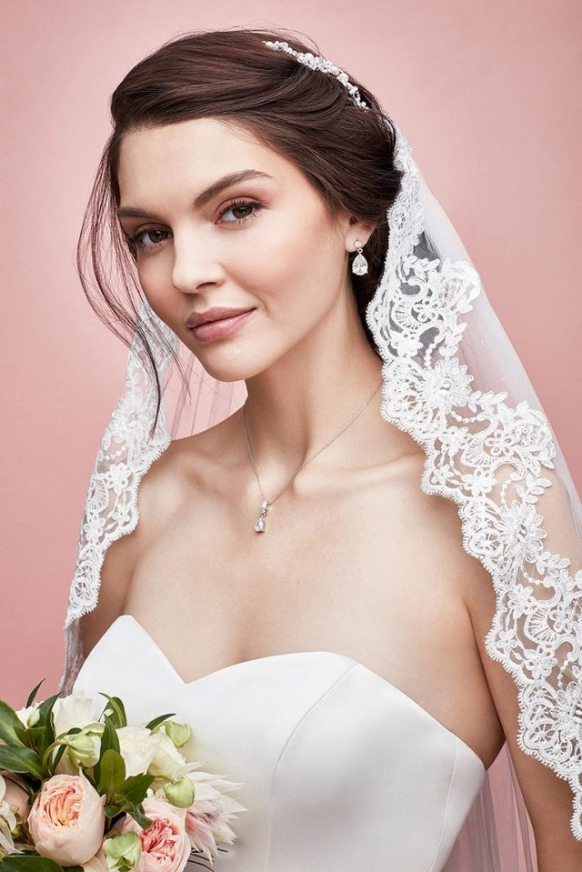 ideas for wedding hairstyles | david's bridal