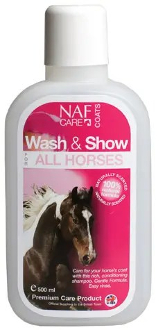 NAF WASH & SHOW ALL HORSES 2.5L-0