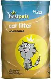 BESTPETS WOOD BASED CAT LITTER 30L-0