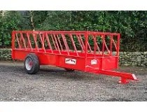 PORTEQUIP CATTLE FEED TRAILER 16' x 6' ( FT166 )-0