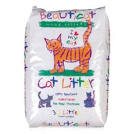 BEAUTICAT WOOD BASED CAT LITTER 30L-0