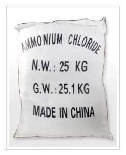 AMMONIUM CHLORIDE 25KG-0