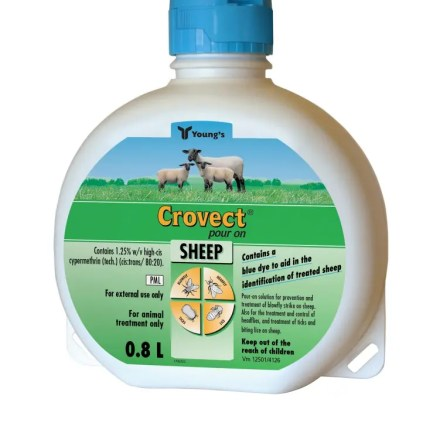 CROVECT SHEEP POUR ON 0.8L-0