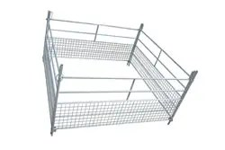 INTERLOCKING PART MESH LAMBING HURDLES 4'-0