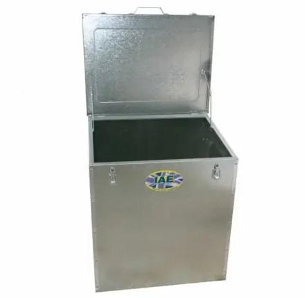 FEED BIN 420L C/W 1 PARTITION-0