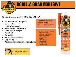 GORILLA GRAB ADHESIVE-0
