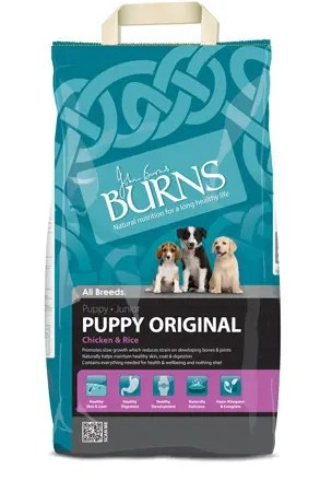 BURNS ORIGINAL PUPPY CHICKEN & BROWN RICE 2KG-0