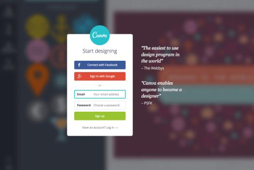 canva.com screenshot