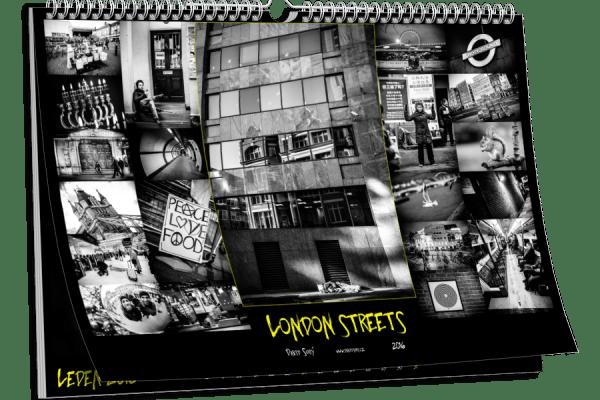 Kalendář London street 2016 London streets v Muzeu města Ústí nad Labem