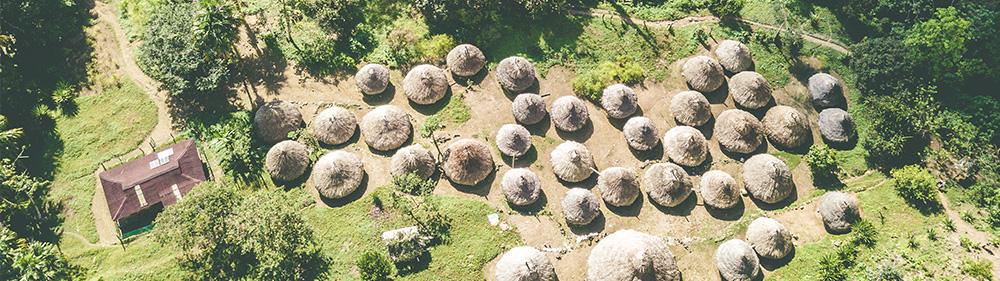 Pěšky džunglí do Ztraceného města Sierrra Nevada de Santa Marta, Kolumbie Mart Eslem a David Surý