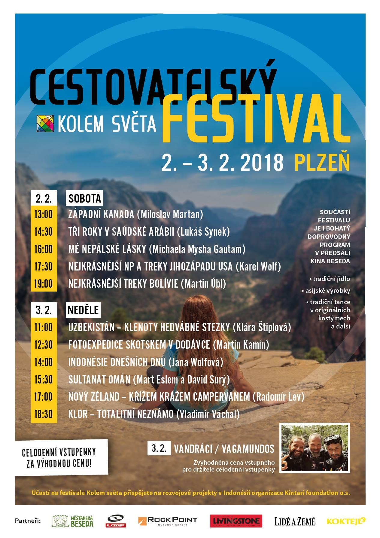 Cestovatelský festival KOLEM SVĚTA Plzeň