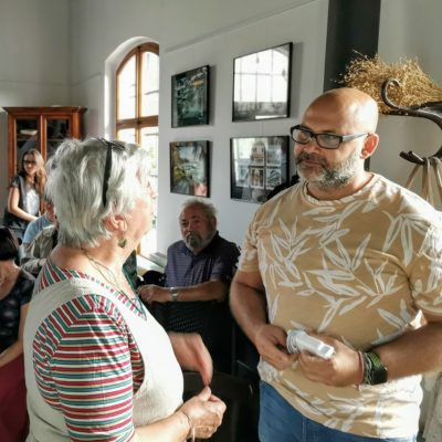 Fér kafe výstava Kolumbie David Surý Foto: Petra Dostalová