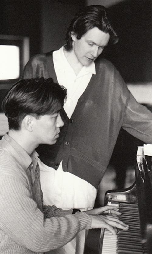 David Sylvian and Ryuichi Sakamoto