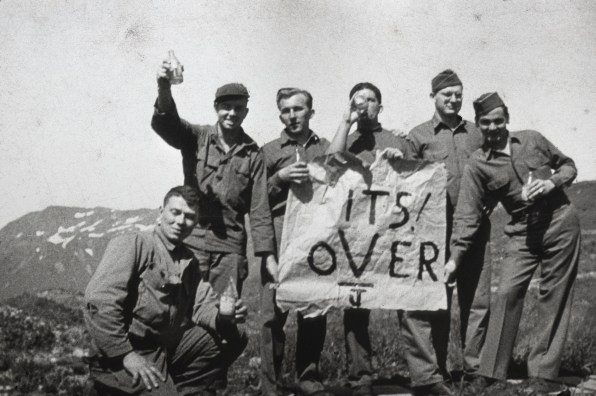"Attu, Alaska - ""It's Over"" - VJ Day"