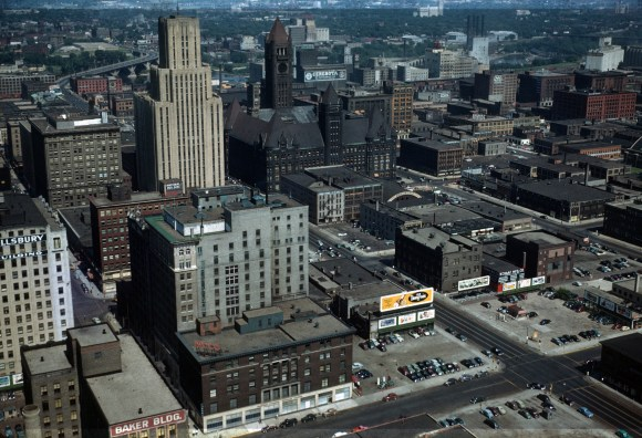 This is Minneapolis - Minneapolis (S.E.) from Foshay Tower - 1949