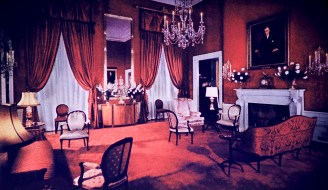 White House - Red Room After Restoration