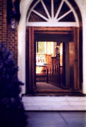 Art - Model Church Entrance