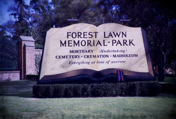 Forest Lawn - Entrance Sign