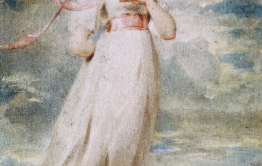 """Huntington Library and Art Gallery – """"Pinky"""" – Thomas Lawrence"""