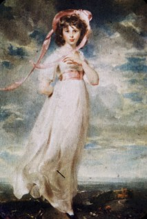 """Huntington Library and Art Gallery - """"Pinky"""" - Thomas Lawrence"""