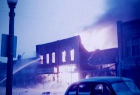 Hutchinson, Minnesota - Fire in Hutchinson - 6:00 AM