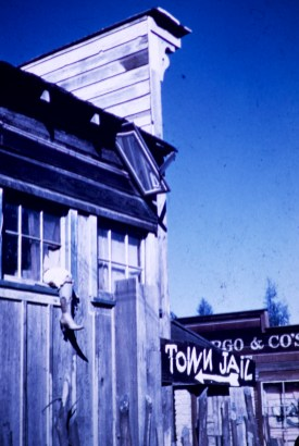 Knott's Berry Farm / Ghost Town - Town Jail - Rooming House