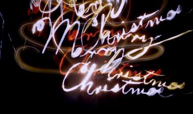 Light Patterns - Merry Christmas