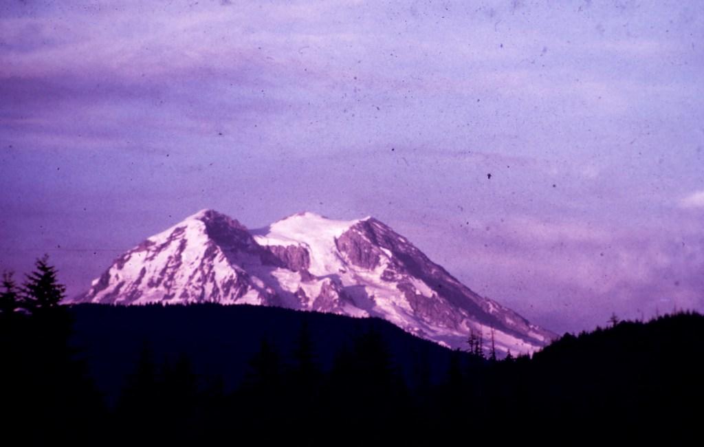 Mount Rainier – Sunset