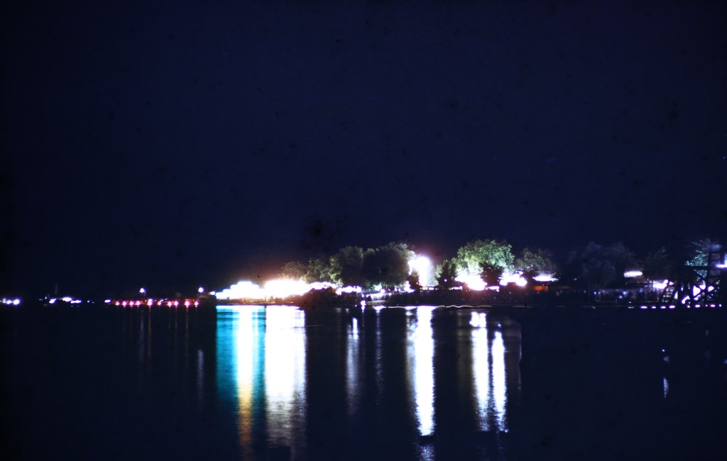 Hutchison at Night – Hutchinson Water Carnival – River Carnival Scene