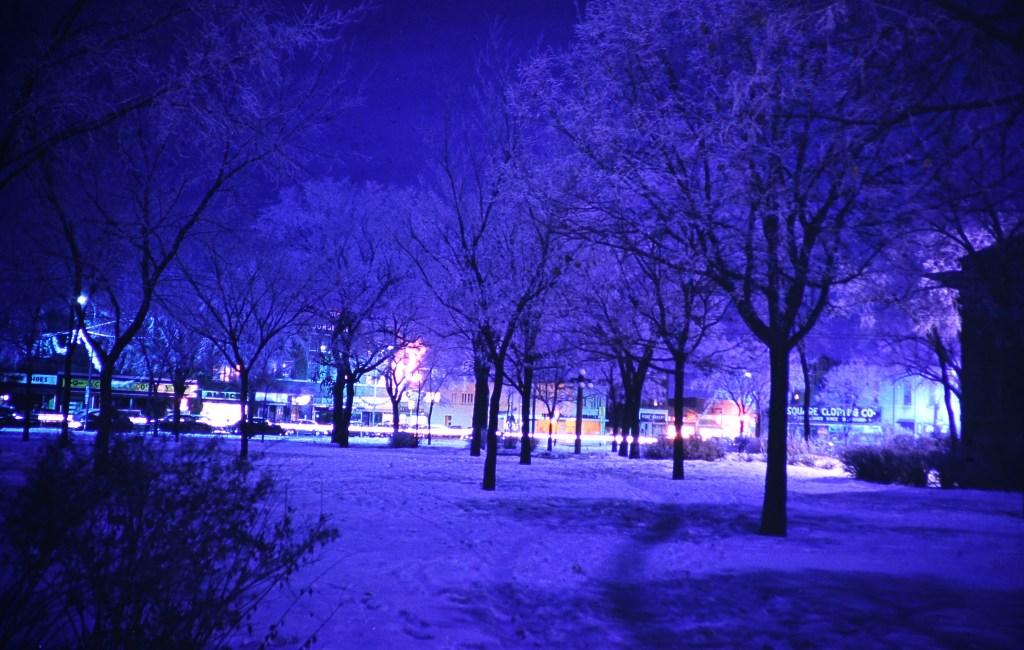 Hutchison At Night