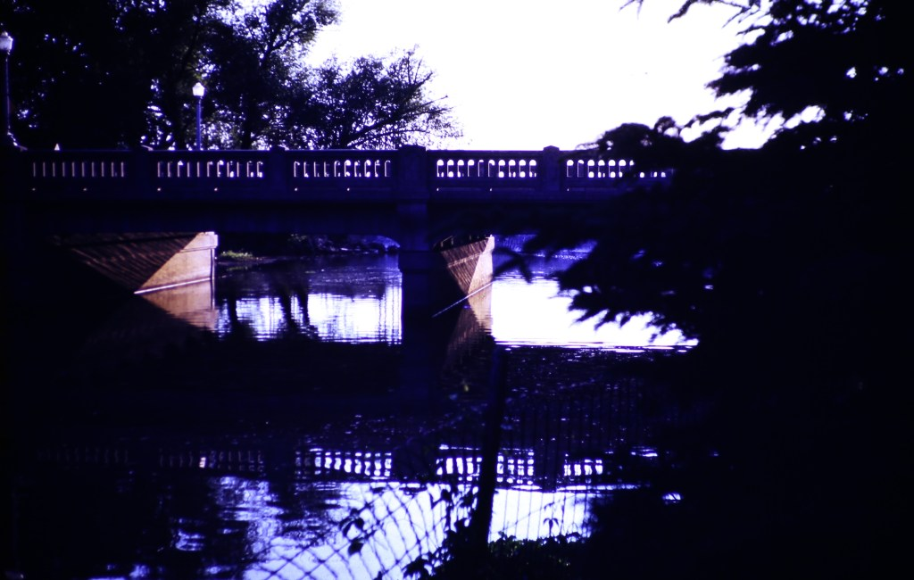 Summer – Bridge at sundown