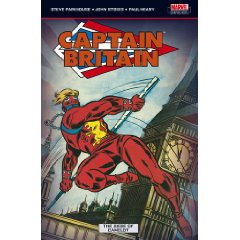 David Thorpe's work is in this Captain Britain collection