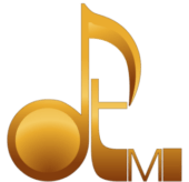 Gold David Turner Music Logo